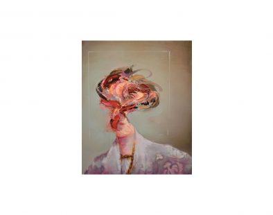 Virginia Woolf (Study II) Painting by Mathieu Laca